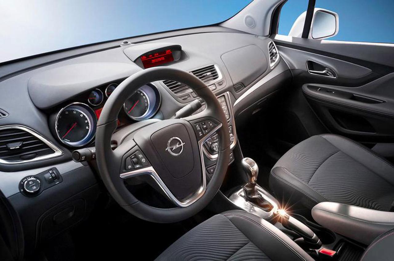 dimensioni dell'Opel Mokka