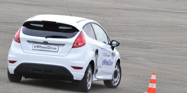 nuova Ford Fiesta Elettrica