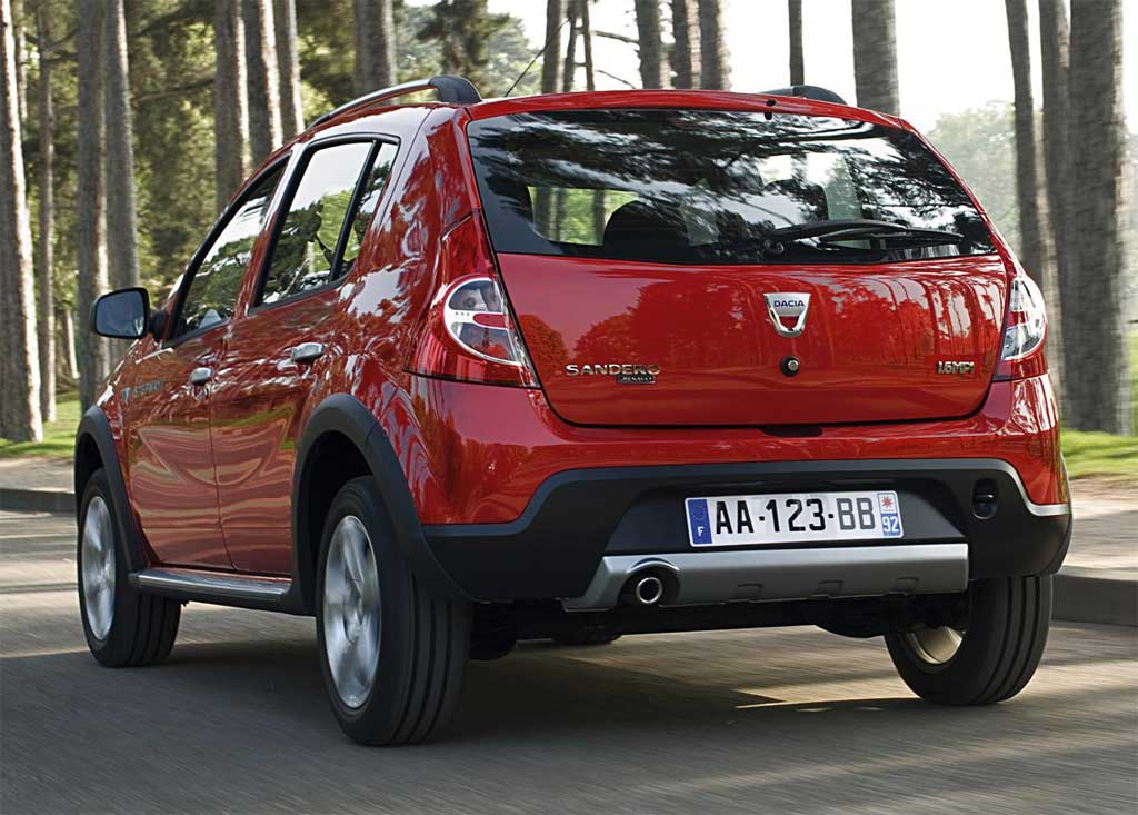 prezzi 2013 della Dacia Sandero Stepway