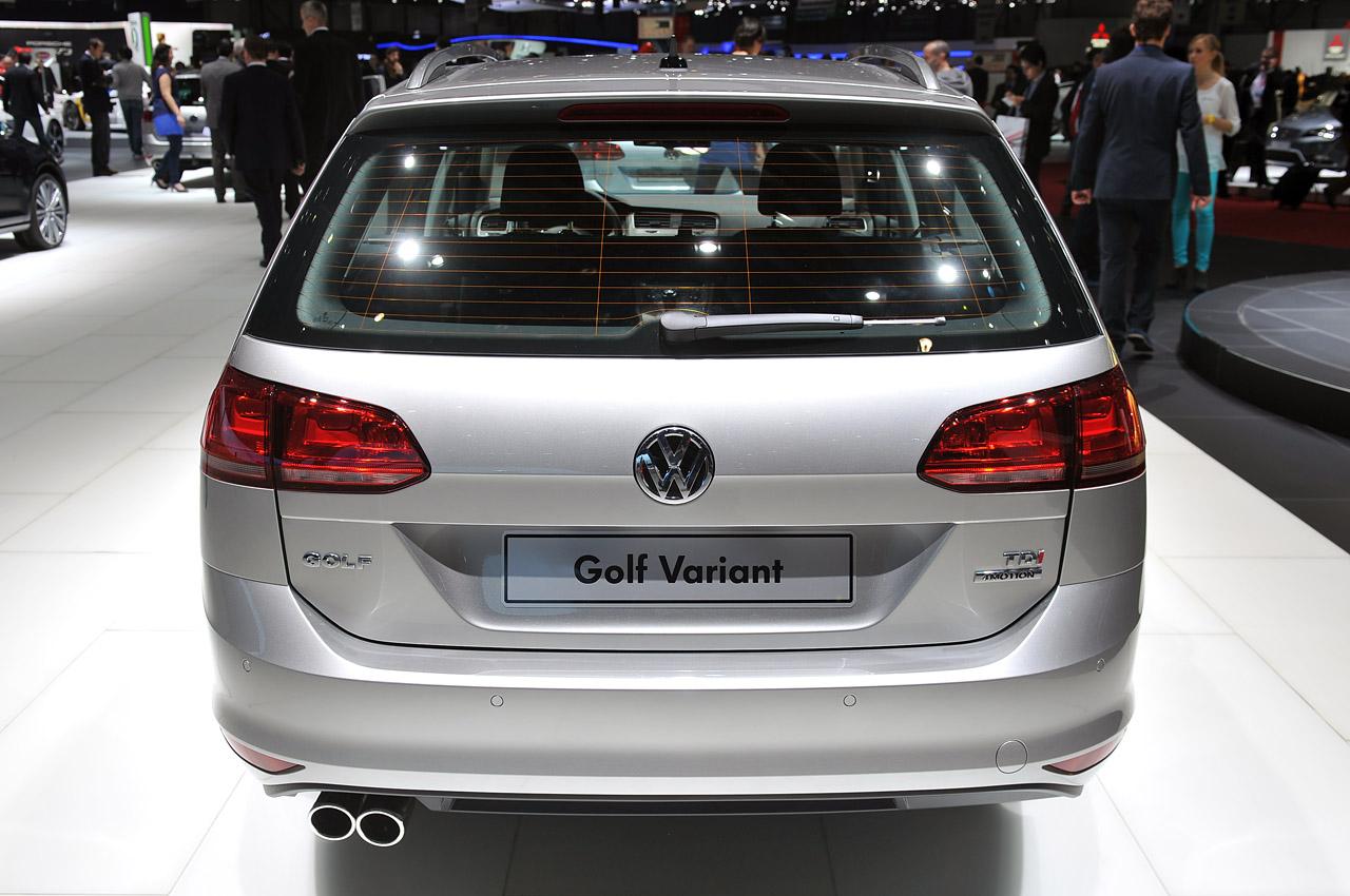 Golf Variant 2013