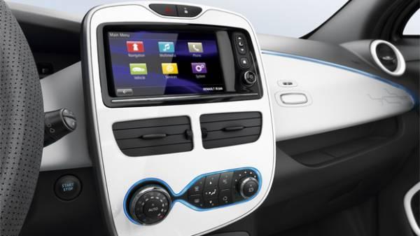 autonomia della Renault Zoe Zen