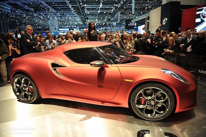 prestazioni dell'Alfa Romeo 4C