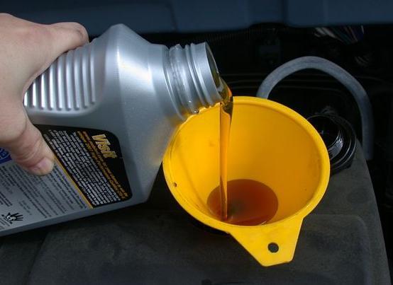 significato delle sigle sull'olio del motore