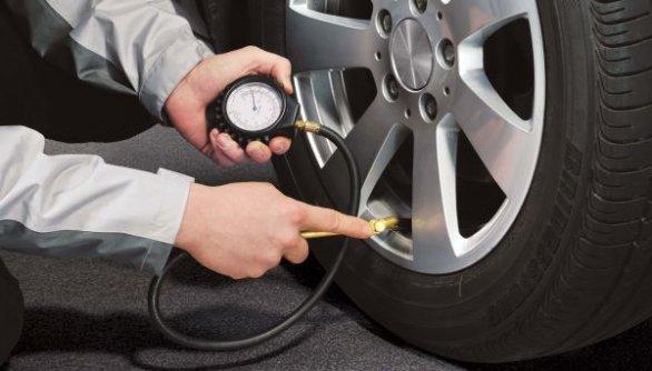 pressione degli pneumatici