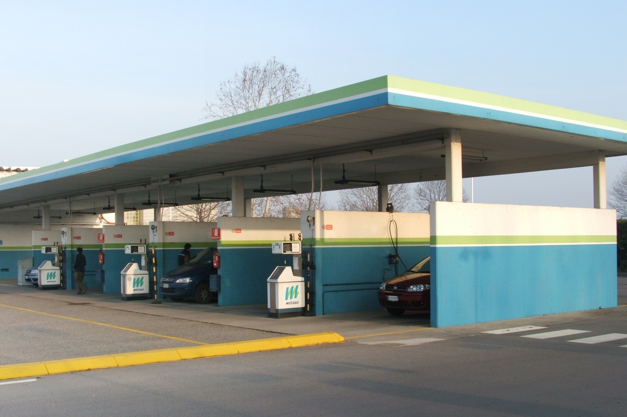 metano in autostrada