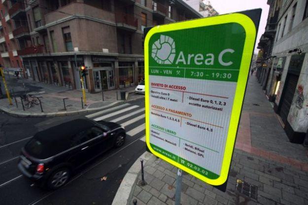 orari dell'Area C a Milano