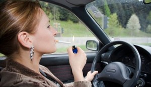 fumare-macchina