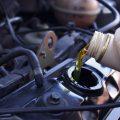 Cambio olio motore auto