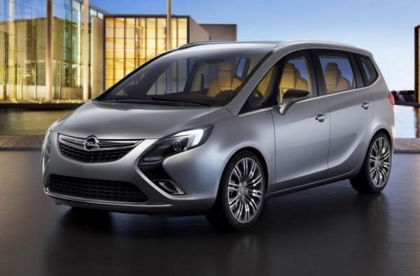 Caratteristiche Opel Zafira Tourer News