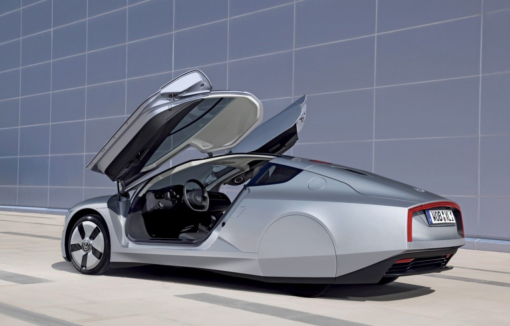 Volkswagen XL1: 100 km con un litro Recensioni Volkswagen