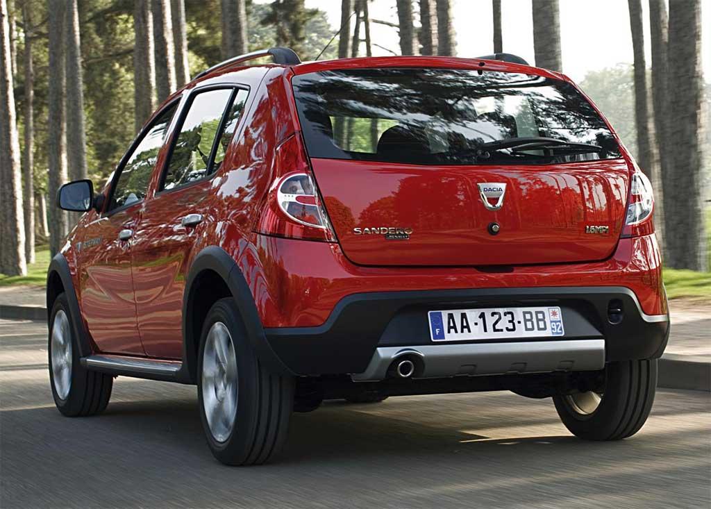 I prezzi 2013 della Dacia Sandero Stepway News