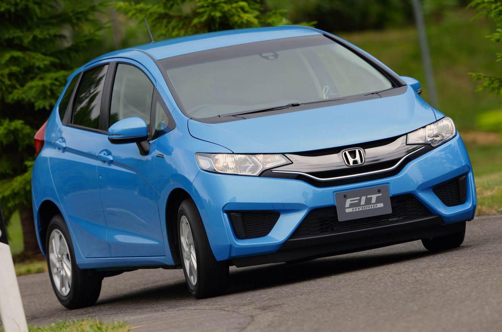 Honda Jazz Hybrid 2014
