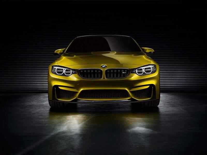 Recensione della nuova BMW M4 Concept BMW