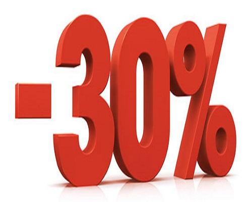 Multe scontate del 30%: ecco come News