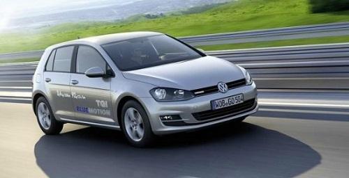 Golf a Metano Volkswagen