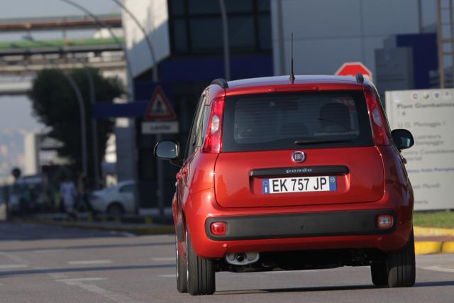 Fiat Panda con cambio automatico Dualogic Fiat Chrysler Jeep