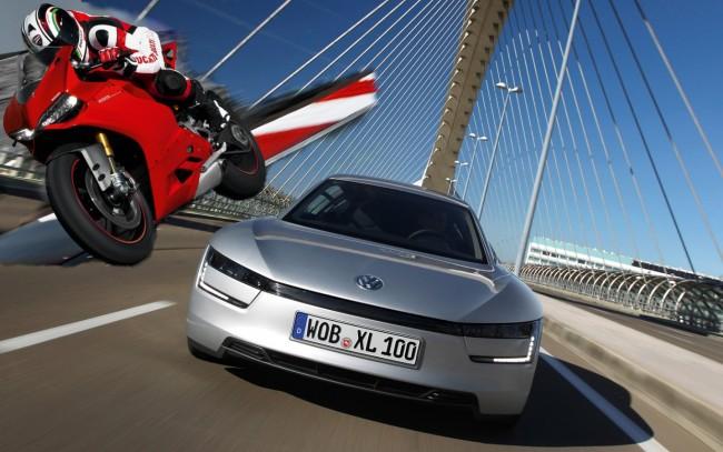 Avete mai visto una Volkswagen con motore Ducati? Volkswagen