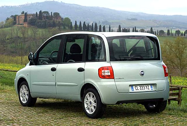 Fiat Multipla a metano Fiat Chrysler Jeep