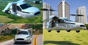 Ecco l'auto volante a decollo verticale News