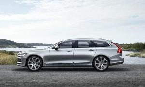 Volvo presenta la station wagon gamma V 90 Volvo
